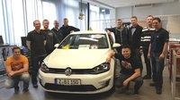 Volkswagen Bildungsinstitut: Absolventen des Qualifizierungspilot