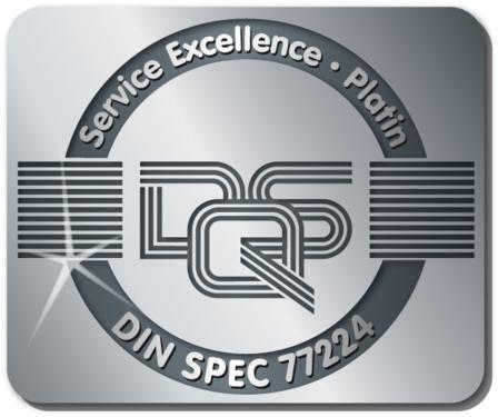 Volkswagen Bildungsinstitut GmbH: Service Excellence 2012 Platin
