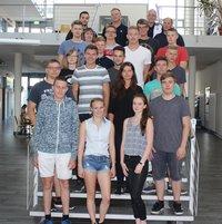 Volkswagen Bildungsinstitut: Student/-innen des Dualen Studiums, Jahrgang 2017