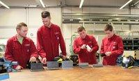 """Volkswagen Bildungsinstitut: """"Jugend schweißt"""" - künftige Auszubildende stellen sich Konkurrenz"""