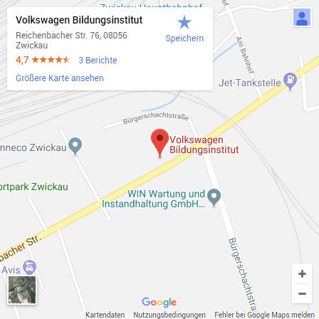 Volkswagen Bildungsinstitut: Standorte: Zwickau